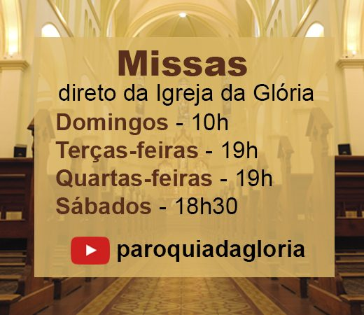missas youtube agosto 2020